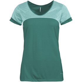 VAUDE Skomer II V-Neck Shirt Damen nickel green